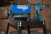 BLUEROCK STRiPiNATOR MWS-808 w/ Stand UMT-11 & W-L100 Wire Stripping Machines - Package Deal