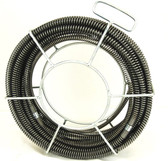 "BLUEROCK Model S75 - 60' x 5/8"" Sectional Pipe Drain Cleaning Cable fits RIDGID C8 Cable"