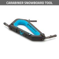 Click Carabiner Snowboard Tool