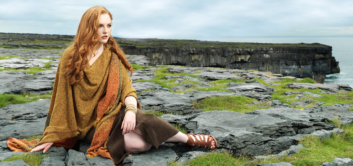 Kerry Woolen Mills - Irish Wool Scarves & Irish Wraps