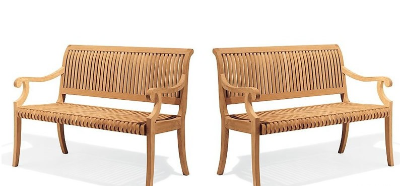 How To Choose A New Teak Bench Things To Consider