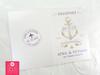 Anchor Passport + Boarding Pass Destination Wedding Invitations