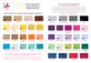 ink color ideas / paper & envelope color options