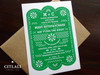 Couple's Shower Mexican Papel Picado Invitation