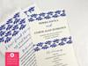 Talavera Inspired Wedding Program Spanish Tile Ceremony Programs