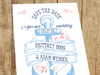 Vintage Anchor Wedding Save the Dates