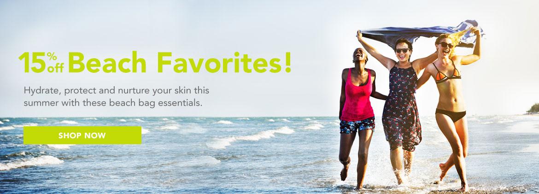 Save 15% on Lexli Beach Favorites