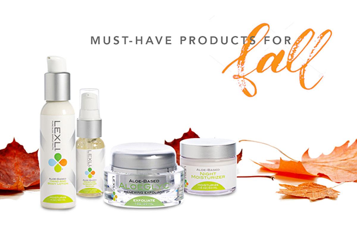 Lexli Fall Essentials Skin Care Kit Giveaway