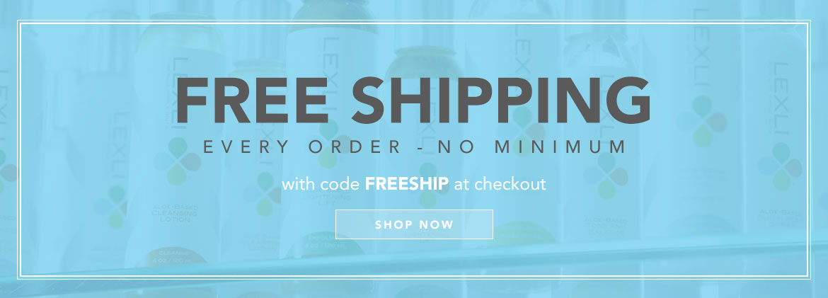 Get free shipping on all orders, no minimums with code FREESHIP at checkout through August 28