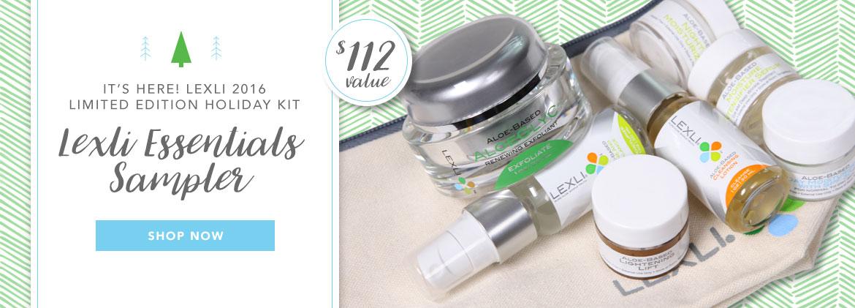 Lexli Essentials Holiday Gift Kit