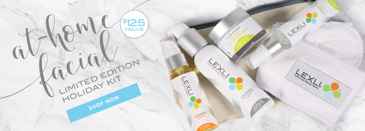 Lexli's At-Home Facial Limited Edition Holiday Kit