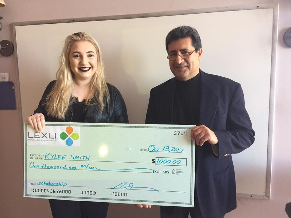 Lexli Scholarship Winner Kylee Smith