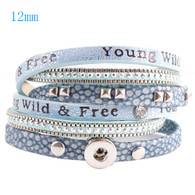 40 CM STATEMENT BRACELET - BLUE