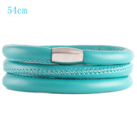 ZILLION TURQUOISE TRIPLE LEATHER BRACELET