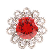 ELEGANT POPPY RED TOPAZ