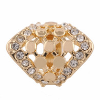 GOLD CLUSTER DIAMOND  Z-CHARM