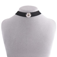 CHOKER - BLACK TRIANGLES