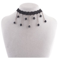 CHOKER - BLACK DIAMONDS