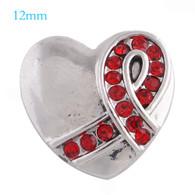 MINI HEART- RED RIBBON (HIV-AI)