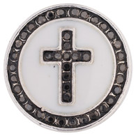 CROSS - GRAY RHINESTONES