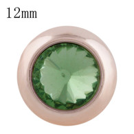 MINI ROSE GOLD - PERIDOT