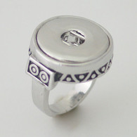 TAXCO SILVER RING - SIZE 9