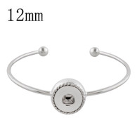 MINI SILVER ICONIC BANGLE
