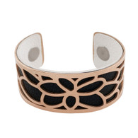 LUXE SS TWO IN ONE BANGLE - ROSEGOLD