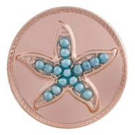 STAR - TURQUOISE BEADS