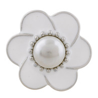 FLOWER - WHITE ZAID PEARL
