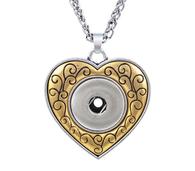 PENDANT - GOLD IN LOVE HEART