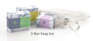3-Bar Soap Set - Lavender & Litsea, Lemongrass, & Rosemary Lime Soaps
