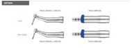 Traus Implant Angle Handpieces (Optic or Non Optic)