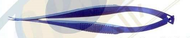 Iris Scissors curved 90 mm- Titanium