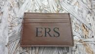 Leather Money Clip & Card Holder