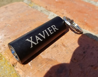 Personalized Engraved 1-LED Flashlight Keychain, Metal Keyring, Key FOB, Key Holder, Key Clip, Wedding Favors, Wedding Gifts, Groomsman Gift