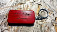 Personalized Wood Keychain