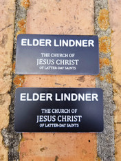 LDS Missionary Name Tags
