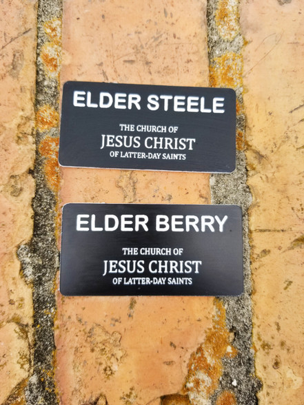 mormon missionary name tag template - lds missionary name tags