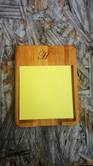 Personalized Sticky Note Holder