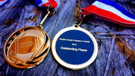 Personalized Football Award Medals