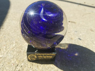 Giant Marble Art Glass Award