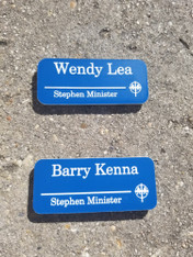 Large Office Name Tags, Office Name Badges