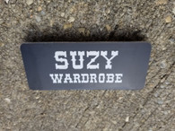 Large Personalized Engraved Employee Office Name Tags Name Badges w/ Magnet ID tags