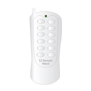 EzW-s031 EZ Wand Remote, One EzRemote to Control your EzWand Motorized Window Blinds