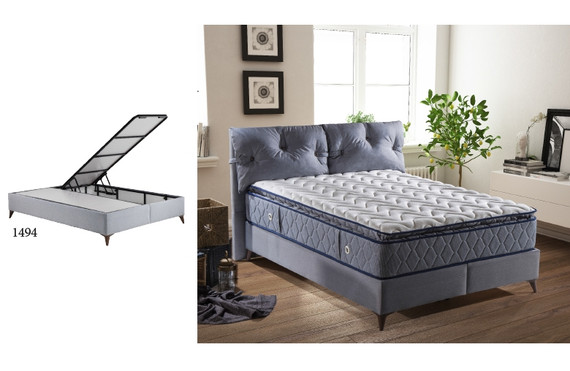 Space Storage Queen Bed