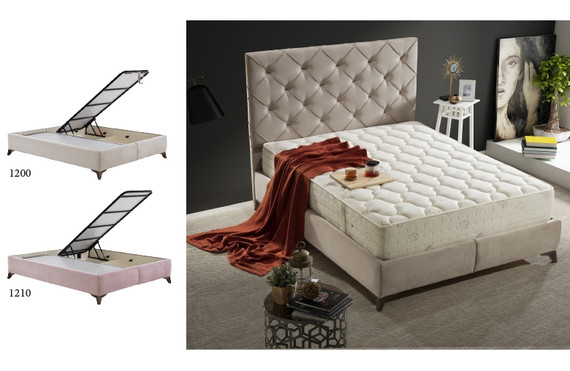 Colloseum Storage Queen Bed