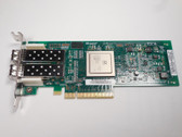 RW9KF DELL SANBLADE 8GB DUAL PORT PCI-E FC HBA w/ Low Profile Adapter QLE2562