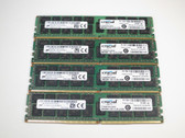 CT4K16G4RFD4213 CRUCIAL 64GB DDR4 2133 ECC REG 2Rx4 RDIMM KIT - FOR SERVERS
