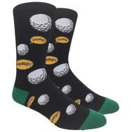 FineFit Novelty Socks - Fore! (NV070A) - 1 Dozen